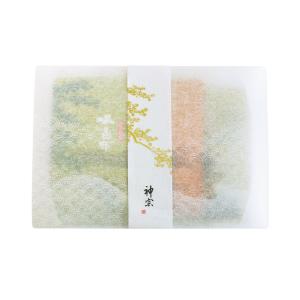 単品商品ギフトセット(塩昆布・ちりめん山椒・細切り柚子昆布やわらか仕立て 3種)