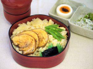 生姜と鶏の炊き込みご飯