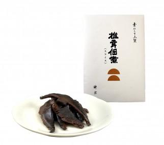 椎茸佃煮(スライス)袋+皿盛り