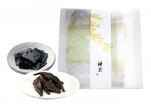 単品商品ギフトセット(塩昆布と椎茸佃煮(スライス)2種)
