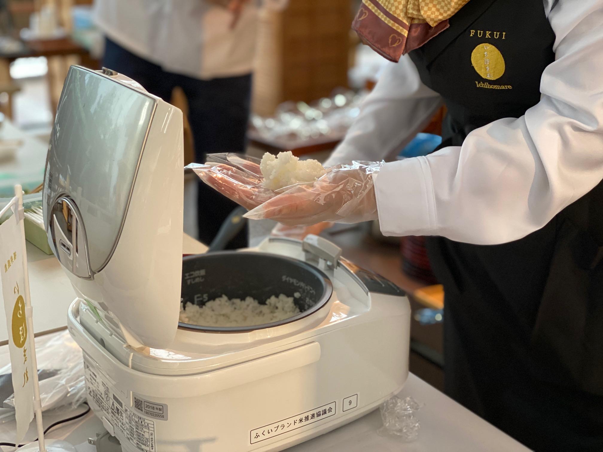 2019年11月 福井県産「いちほまれ」×神宗「にゅうめん」試食会